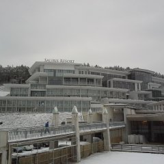 The Hotel at winter