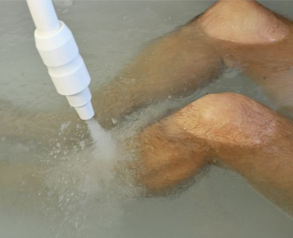 Medical treatments in water
