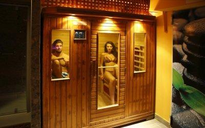 Szauna - Six Inn Hotel Budapest
