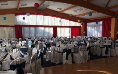 Esküvő a Balaton teremben