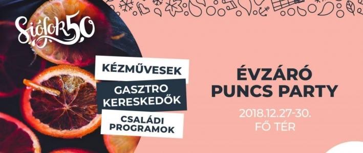 Évzáró Puncs-Party Siófokon