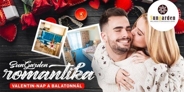 Balaton parti Valentin nap