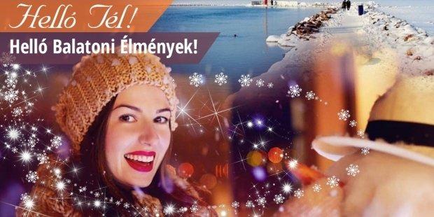Hello Tél - Téli Wellness a Balatonnál