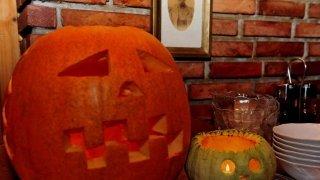 Halloween díszlet