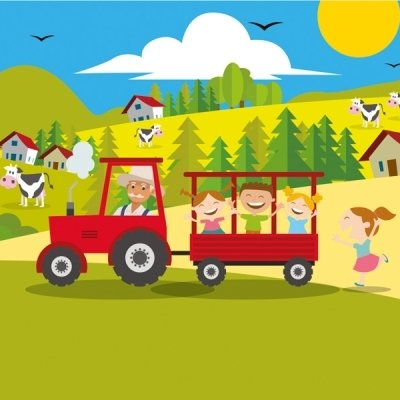 Traktor tura čez drn in strn