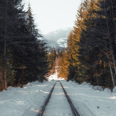 Saisonschließende Schmalspurbahnfahrt