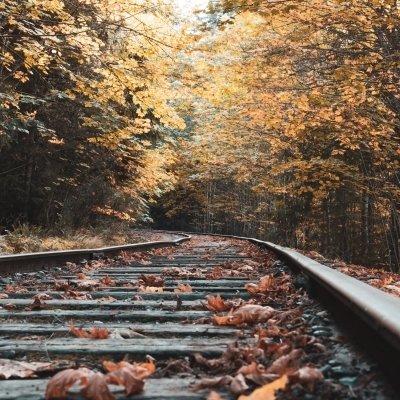 Season closing train travelling