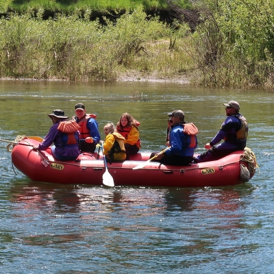 Rafting a Murán