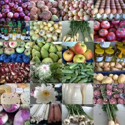 Termelői piac Lentiben