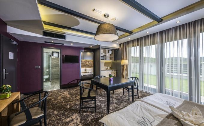Villa Cuvée Egerszalók - Családi szoba minikonyhával