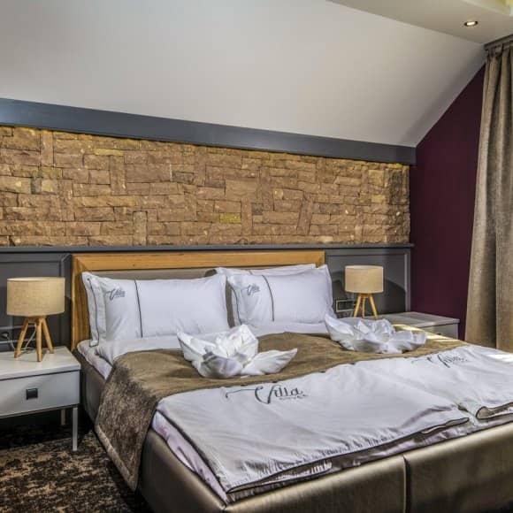 Villa Cuvée Egerszalók - Családi szoba hálószoba rész