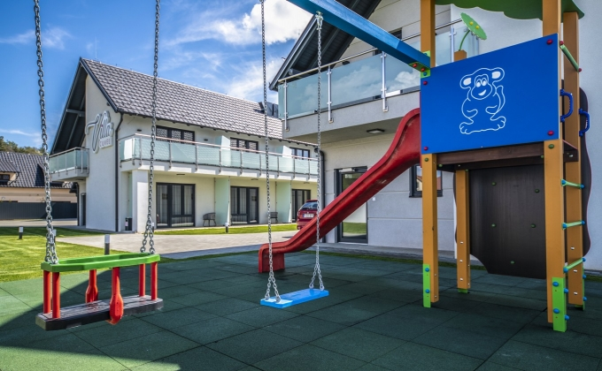 Villa Cuvée Egerszalók - Kültéri játszóvár