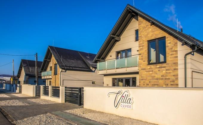 Villa Cuvée - wine-themed accommodation in Egerszalók