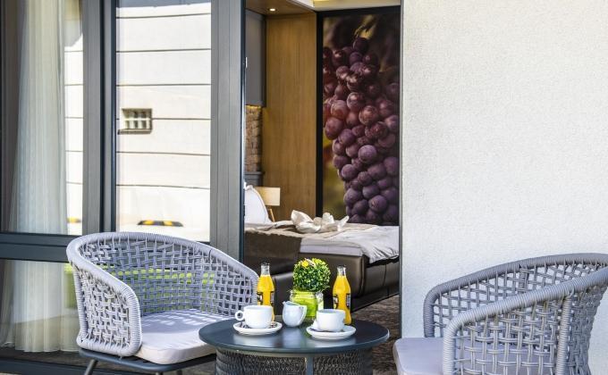 Villa Cuvée Egerszalók - Erkélyes szoba