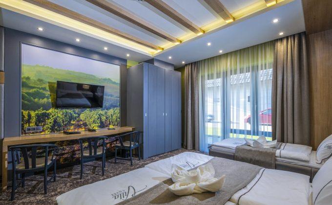 Villa Cuvée Egerszalók - Háromágyas szoba