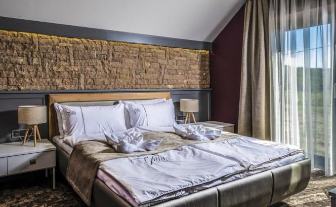 Villa Cuvée Egerszalók - Családi szoba, hálószoba rész