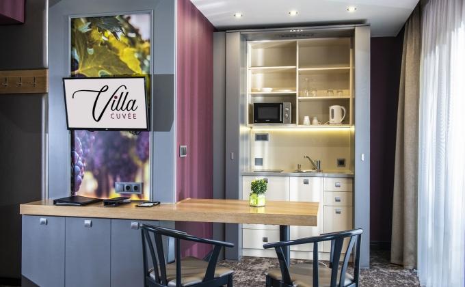 Villa Cuvée Egerszalók - Szobai mini konyha