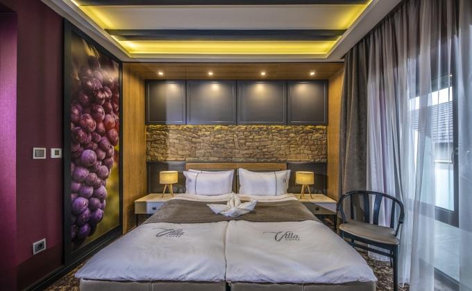Villa Cuvée Egerszalók - Red Wine themed Double room
