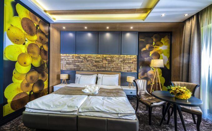 Villa Cuvée Egerszalók - Fehérbor tematikájú szoba