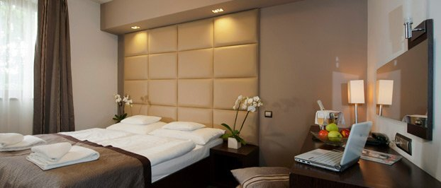 Négycsillagos design deluxe szoba
