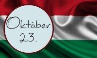 Október 23. Ünnepi Hosszúhétvége