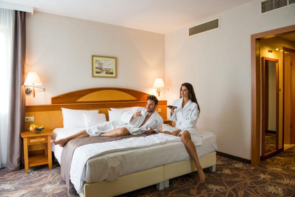 Standard kétágyas szoba a VitalMed Hotelben Sárváron
