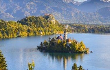 Kirándulás a meseszép a Bledi tóhoz