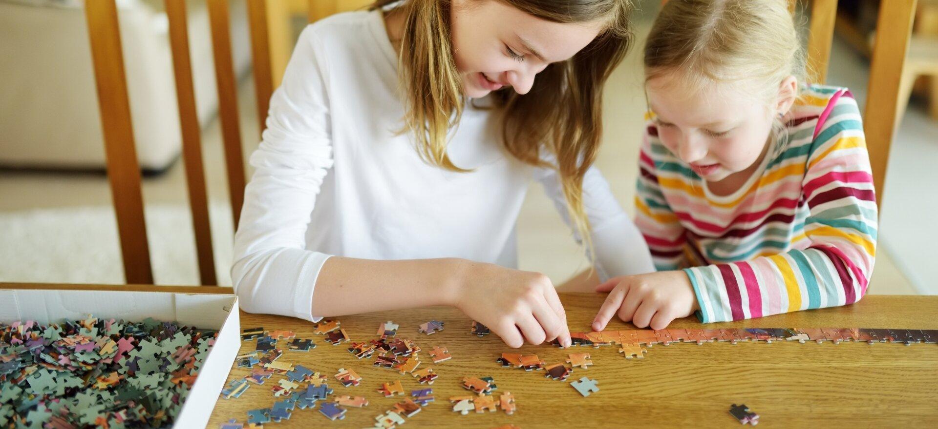 Puzzle a Játszóházban