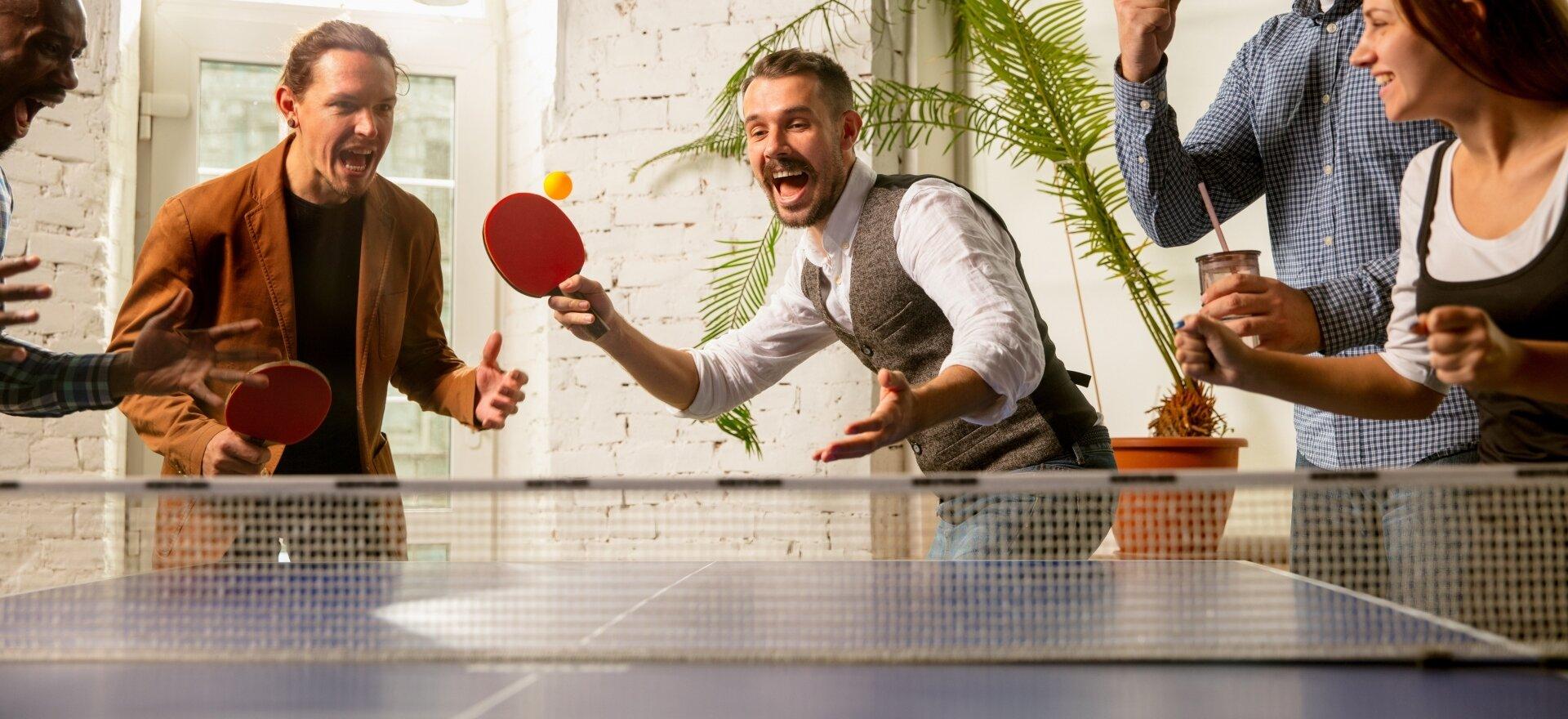 Ping-Pong Bajnokság Club teremben
