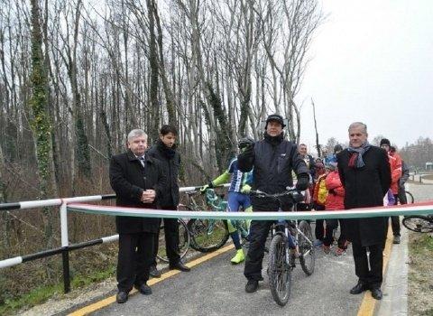 Újabb szakasszal bővül a zalakarosi kerékpárút hálózat