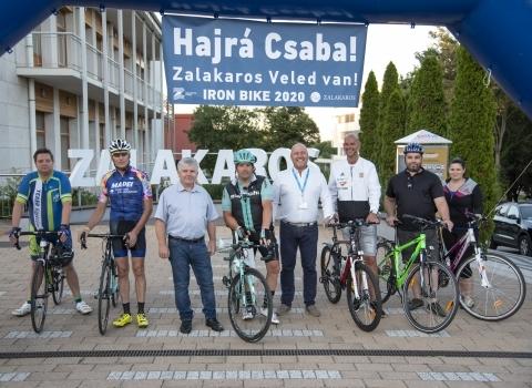Zsiga Csaba és az Iron Bike Zalakaroson