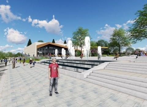 Új gyógyhelyi városközpont épül Zalakaroson