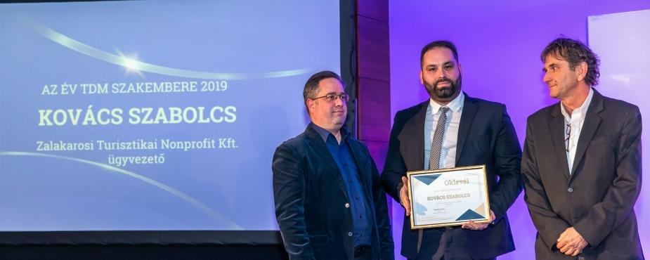 Kovács Szabolcs lett az év TDM szakembere