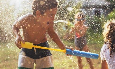 A nyár legnagyobb vízipisztoly csatája