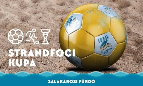 Zalakarosi Fürdő férfi strandfoci kupa