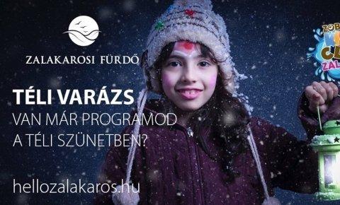 Téli varázs a Zalakarosi Fürdőben