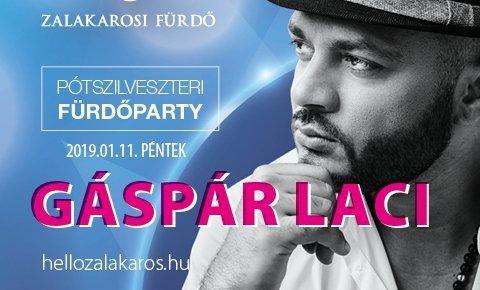 Pótszilveszteri party Gáspár Lacival