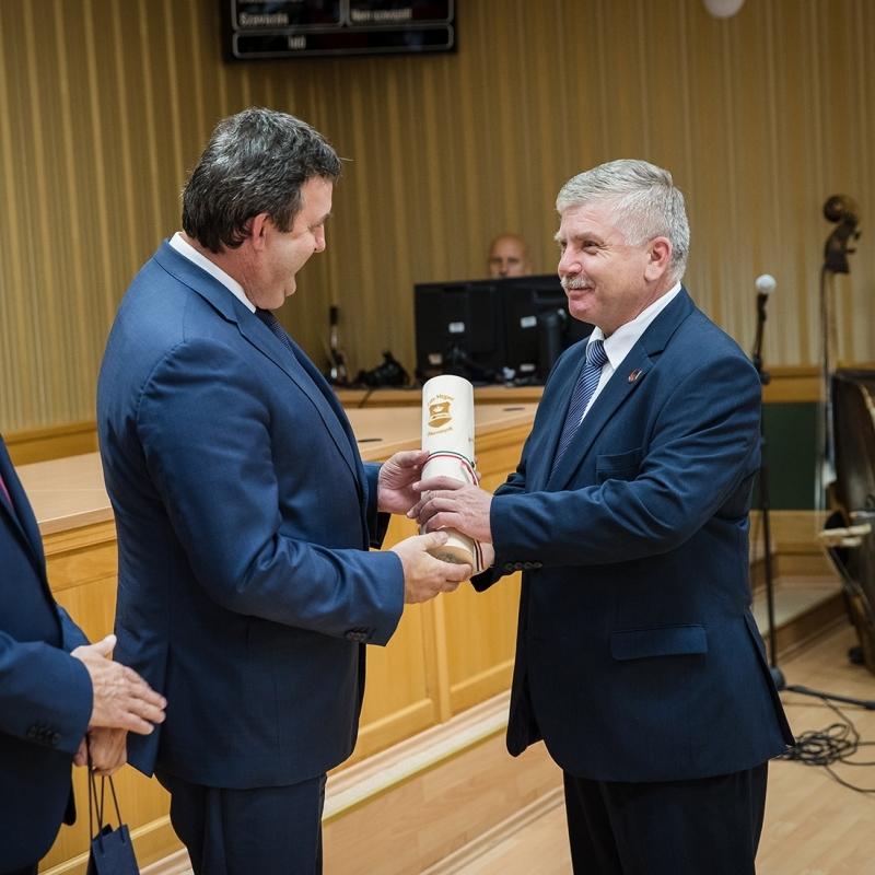 Zala megye fejlesztéséért kitüntetés a polgármesternek