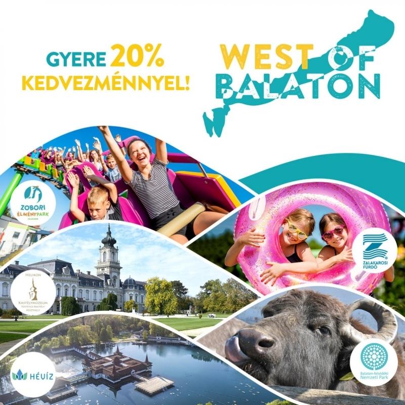 West of Balaton kedvezmények