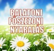 Balatoni nyaralás főszezonban