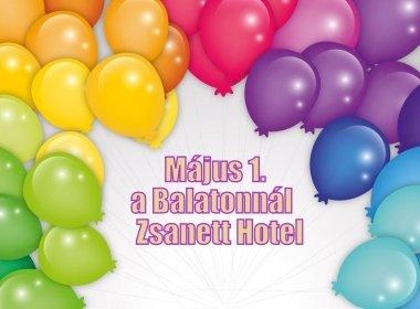 Május 1. a Balatonnál